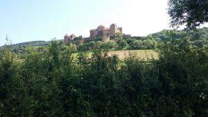 Château de Berzé du XIVème Ain France planning de balades