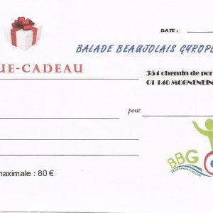 Chèque cadeau Utilisable chez Balade Beaujolais Gyropode