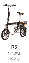 Le bicycle R6 mixte simple et peu encombrant de Balade Beaujolais Gyropode